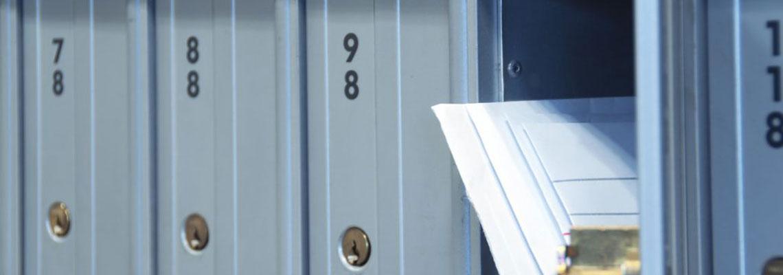 la boîte postale